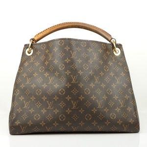 Auth Louis Vuitton Artsy Mm Hobo Bag #2306L92